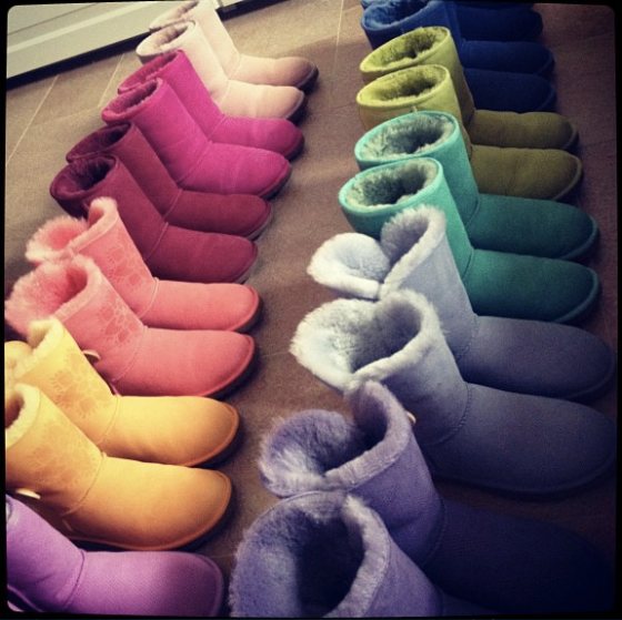 My UGG Collection